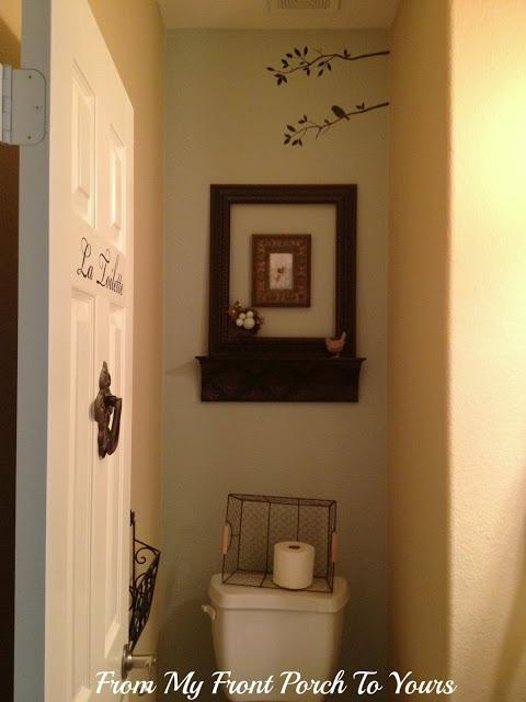 Very Small Half Bathroom Before I Share The New Half