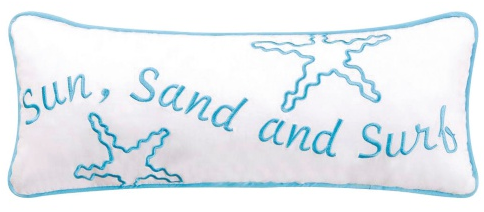 Sun Sand and Surf Pillow