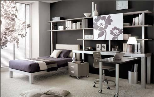 cool modern teen girl bedrooms  room design inspirations, Bedroom decor