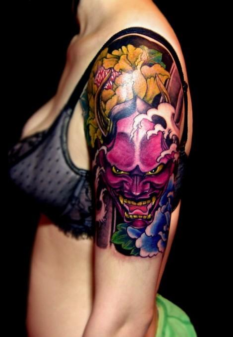 Chinese Flower Tattoos