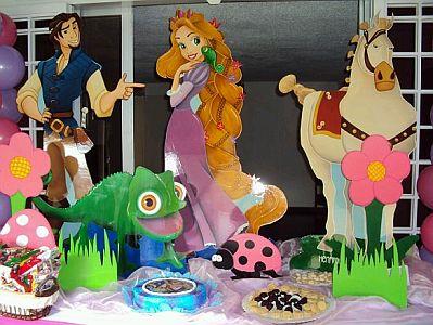 Decoracion De Fiestas Infantiles Enredados Rapunzel Tangled Real