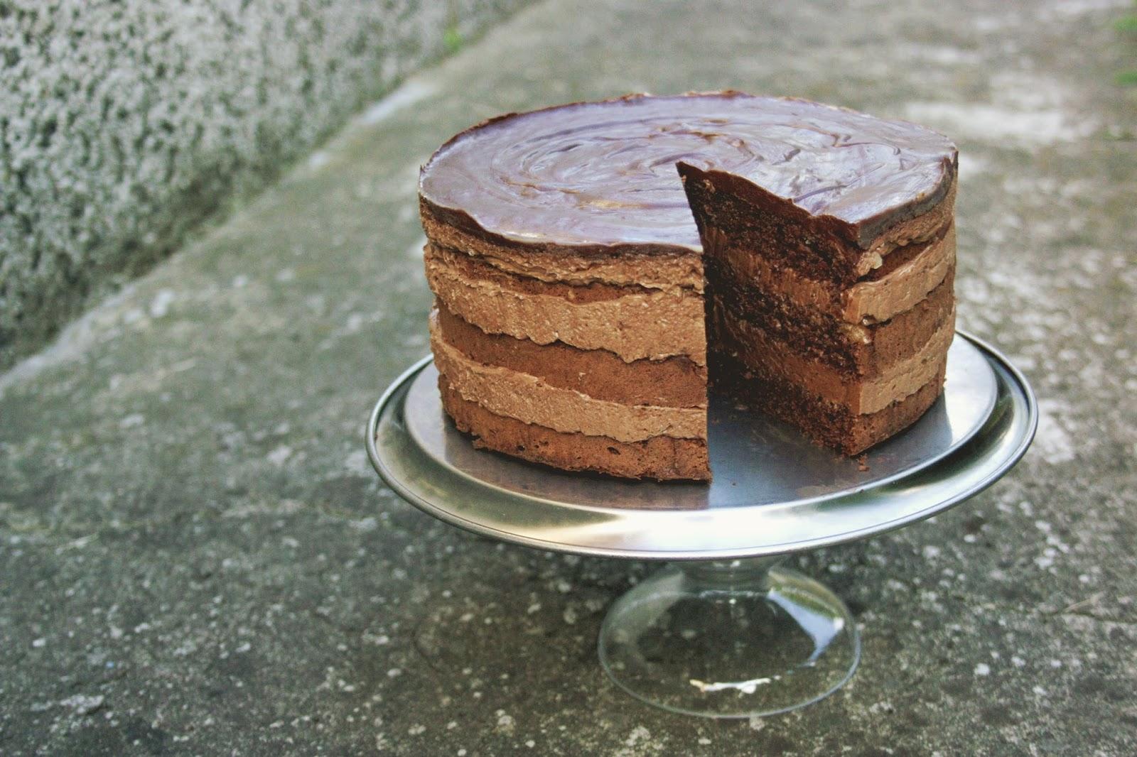 Торт прага с заварным кремом рецепт с фото пошагово