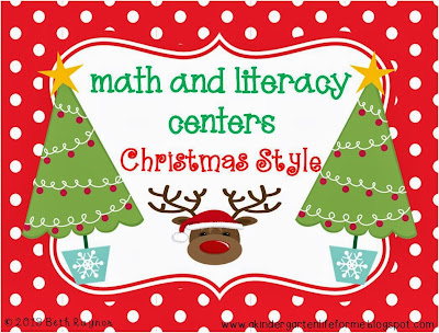 http://www.teacherspayteachers.com/Product/Math-and-Literacy-Centers-Christmas-Style-999613