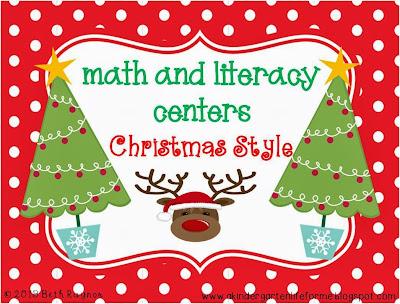 http://www.teacherspayteachers.com/Product/Math-and-Literacy-Centers-Christmas-Style-999613