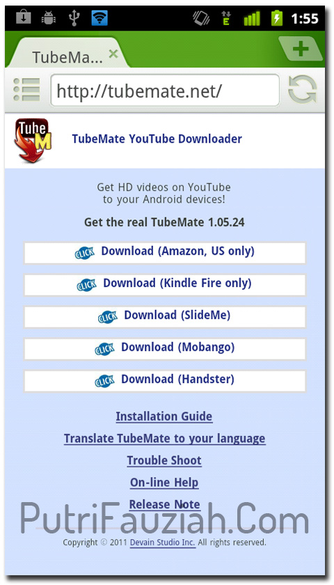 cara download video line dengan aplikasi