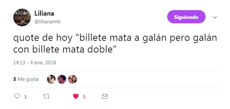 Liliana en Twitter