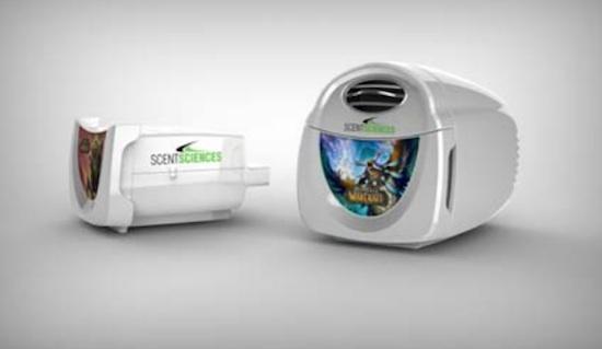 ScentScape, Tecnología