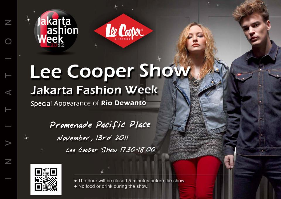 The faj jakarta fashion week 2012 the annual jakarta fashion week is about to begin and the second day i got an invitation for lee cooper showi will update the show very soon stopboris Images