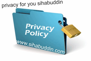 Privacy Policy sihabuddin.com