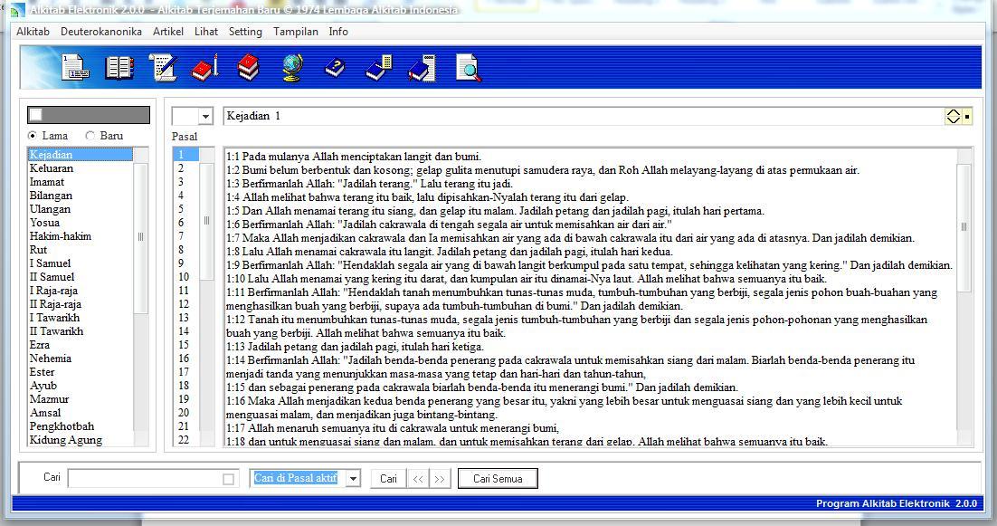 Free download alkitab elektronik untuk windows 7