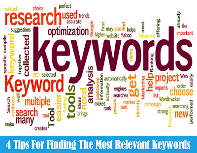 4 Tips For Finding The Most Relevant Keywords