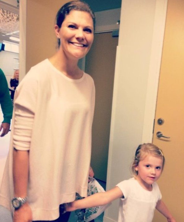 Princess Victoria, Prince Daniel And Princess Estelle Visit Lillsved