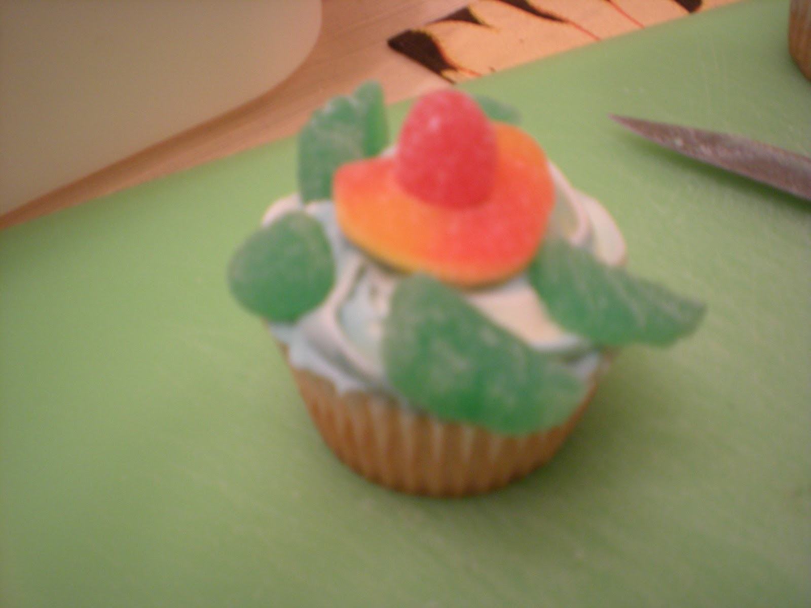 ... foods i made turtle cupcakes for dessert to finish off the turtle