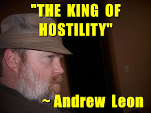"WOT? ME, ""THE KING OF HOSTILITY""?"