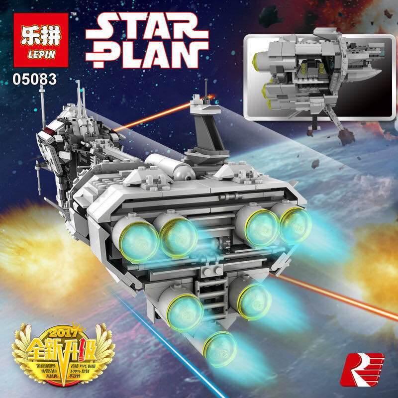 downtheblocks: Lepin 05083: Star Plan Medical Frigate ...
