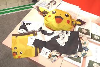 Pokemon Furoshiki FashionSnap.com