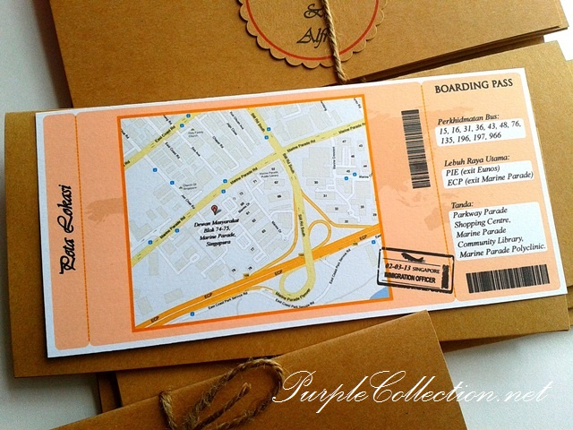 Kraft Boarding Pass Wedding Card, Karft, Boarding Pass, Wedding Card, Wedding, Marriage, Aeroplane, Travel, Invitation Card, Vintage, Vintage Kraft, Vintage Kraft Colour