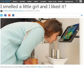 Engadget Creepy Article Title, article, inappropriate article