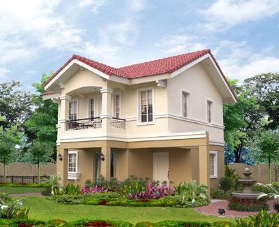Amaranth model house of savannah glades iloilo by camella for Savannah style house plans