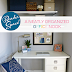 Reader Space:  A Neatly Organized Office Nook