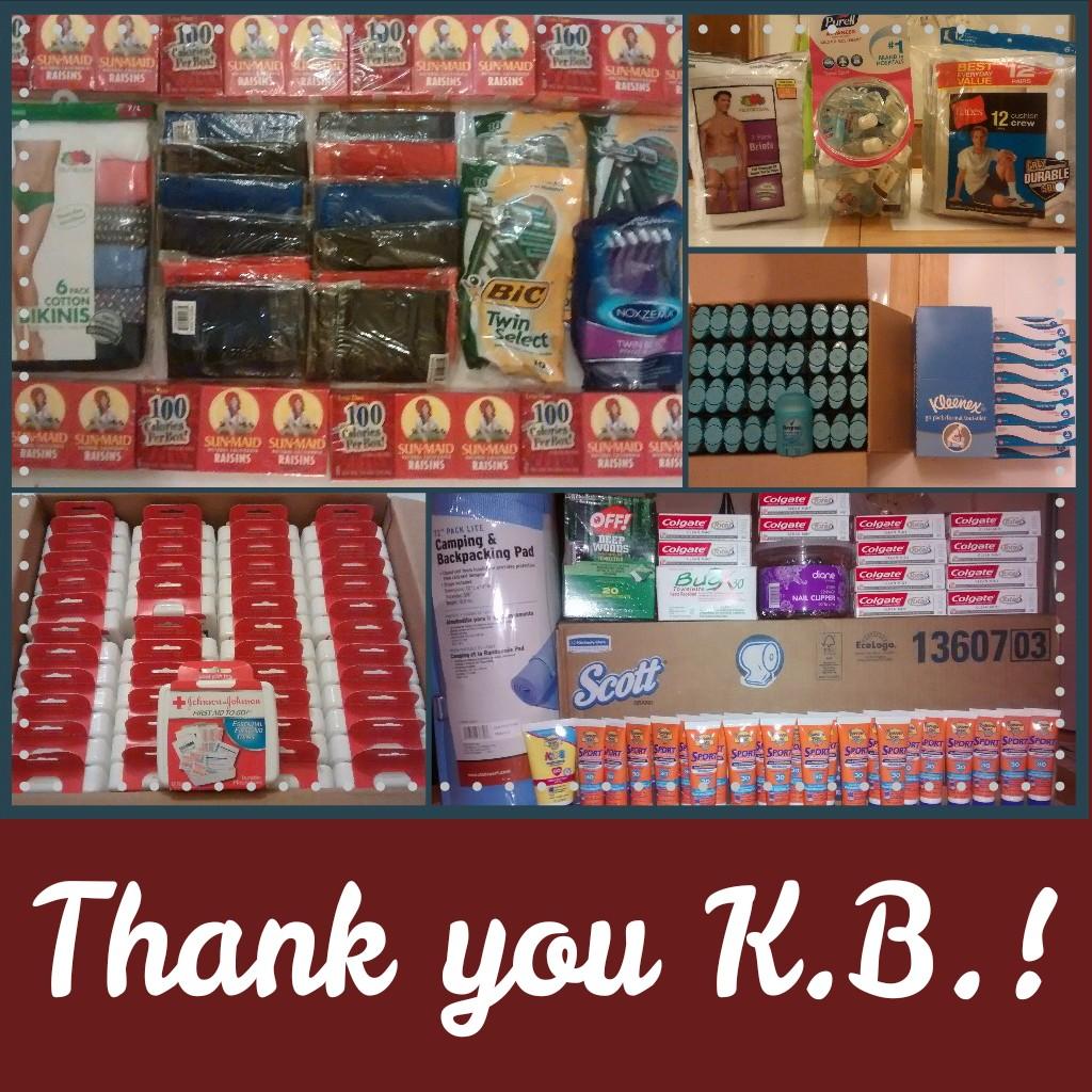 KB donation