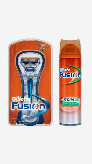 Buy Gillette Combo Of Fusion 5 Blade Razor And Fusion Hydra Shave Gel Rs. 199 only at Paytm.