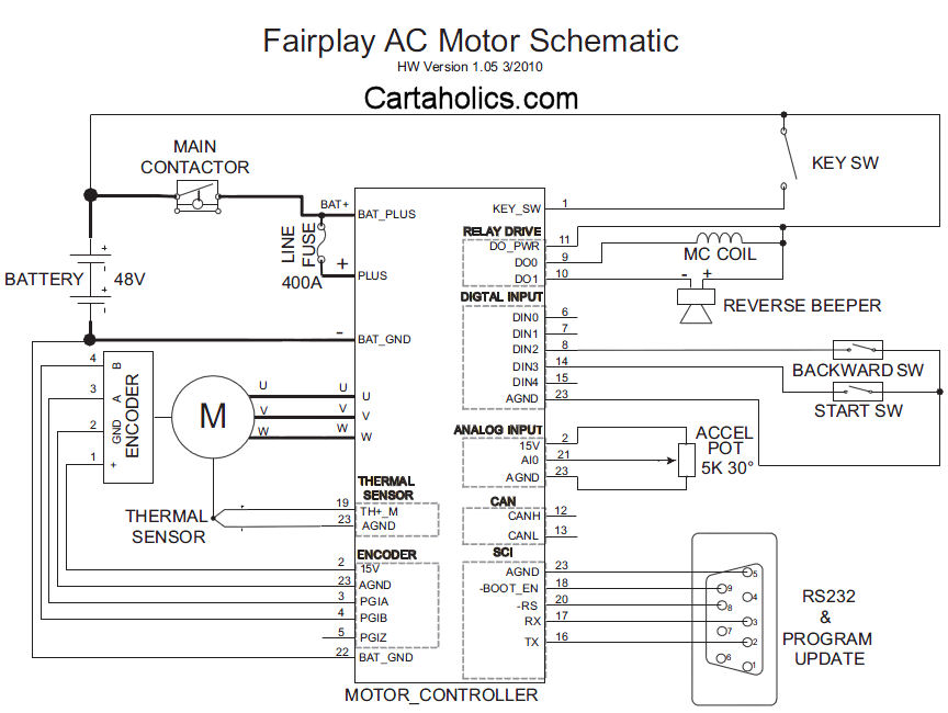 Ac Motor Diagrams Ac Motor Kit Picture