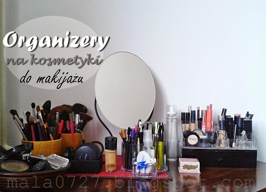 organizery na kosmetyki