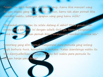 kata indah tentang waktu