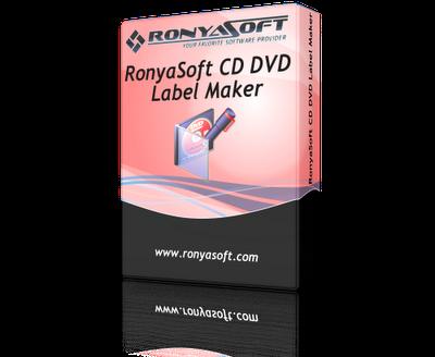 RonyaSoft CD DVD Label Maker 3.2.14 + Serial Keys ...
