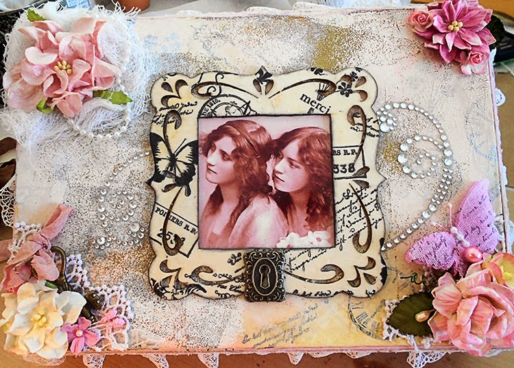altered trinket box by laughngypsy