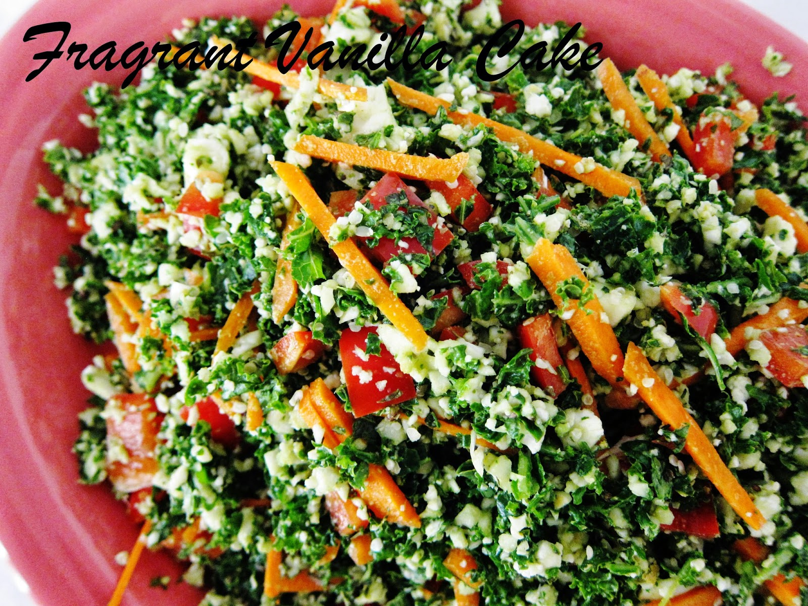 Raw Emerald Rice Salad