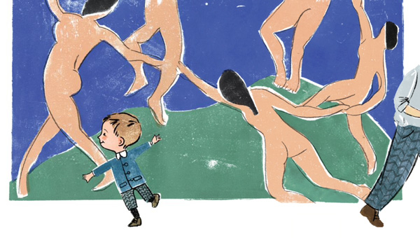 Creative Courage for Young Hearts 15 Emboldening Picture Books Celebrating the Lives of Great Artists, Writers, and Scientists - HENRI MATISSE