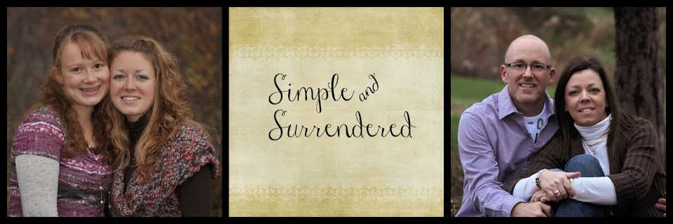 Simple and Surrendered...