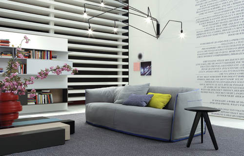 Santa Monica Sofa interior
