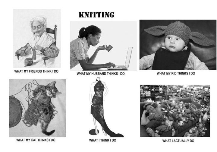 Knitting Meme : Knitting it all together