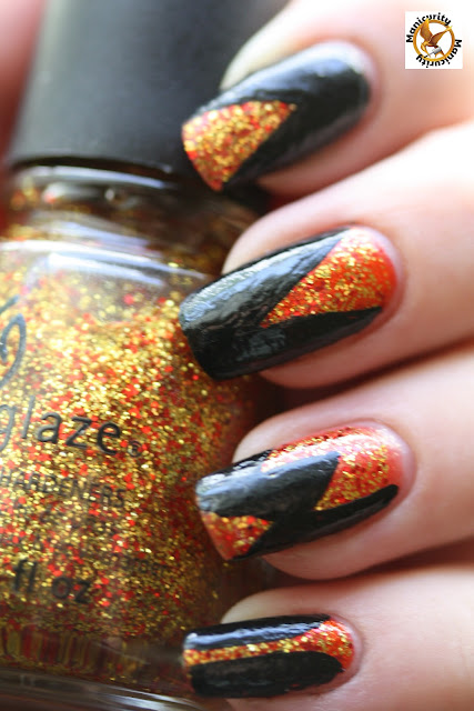 Hunger Games District 5 China Glaze Electrify