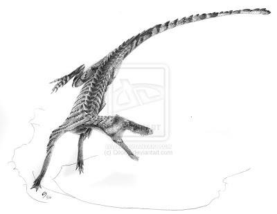 Crocodylomorpha Hesperosuchus