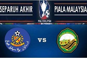 Siaran Langsung Pahang Vs Kedah Separuh Akhir Kedua Piala Malaysia 2014