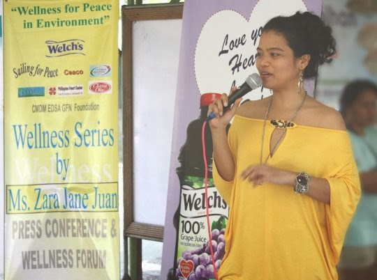Wellness for Peace in Environment with Ambassador Zara Jane Juan