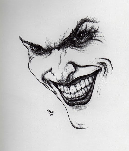 drawn joker wallpapers and - photo #26