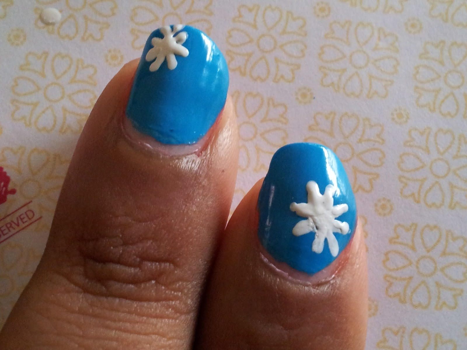 Snowflakes Nail Art | Sugar, Spice and Everything Nice