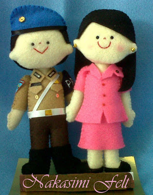 Download image Nakasimi Felt Boneka Couple Polisi PC, Android, iPhone ...