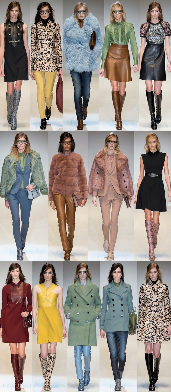 Gucci fall winter 2014 runway collection, FW14, AW14, MFW, Milan fashion week, Frida Giannini