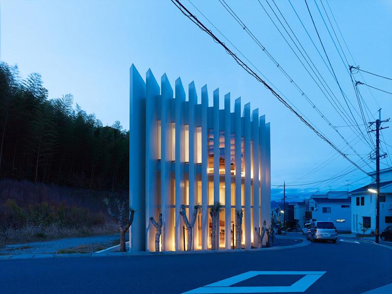 nhà-phố-độc-đáo-ở-Muko-Nhật Bản