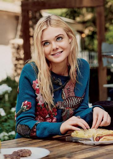 Elle Fanning Teen Vogue Magazine October 2015 Photo shoot