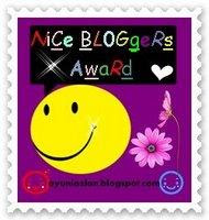 Nice Blogger awards