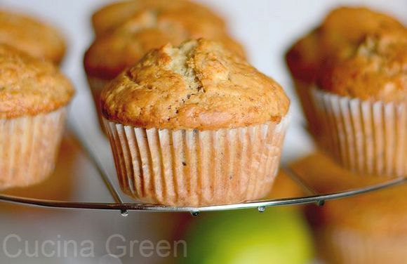 ricetta muffin banana leggeri senza uova