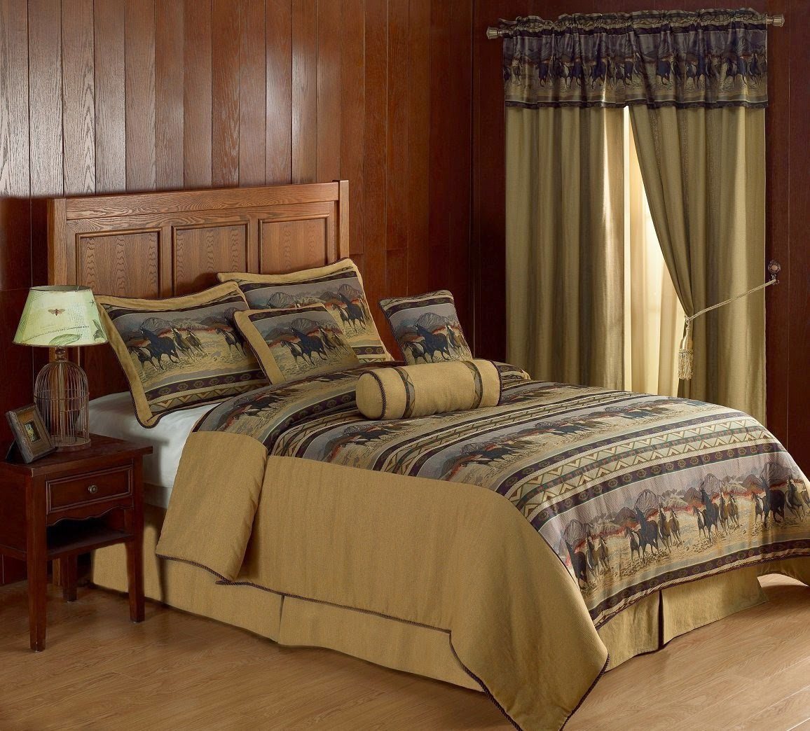 bedroom decor ideas and designs top ten equestrian and horse bedding