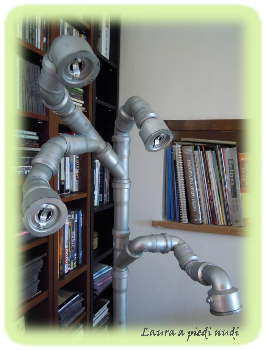 Lampade decorate con conchiglie: biancafiore: cornici. biancafiore ...